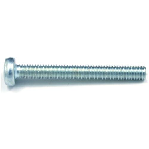 Pan-Head Zinc-Plated Machine Screws - M5 x 40 mm - 3/Box