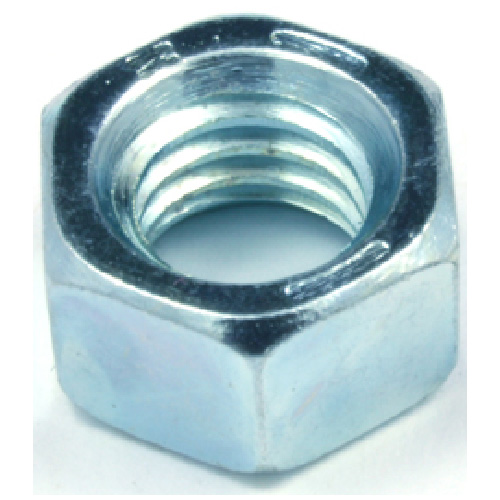 "Hexagonal Nut - Grade 5 Steel - 1/4"" x 20 pitch - 100PK"