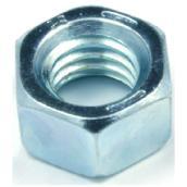 """Écrou hexagonal, acier de grade 5, 1/4"""" x 20 pas, 100/boîte"""