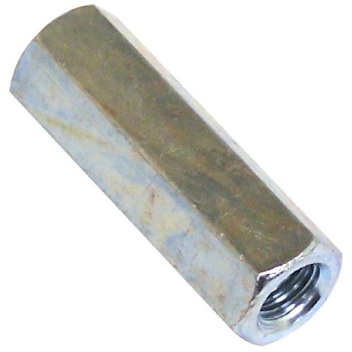 "Écrou de raccord hexagonal, 3/4""-10 x 21/4"", zinc"