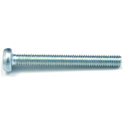Pan-Head Zinc-Plated Machine Screws - M4 x 20 mm - 8/Box