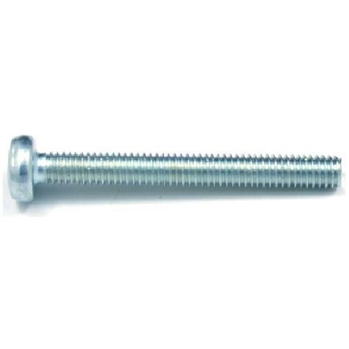 Pan-Head Zinc-Plated Machine Screws - M4 x 25 mm - 7/Box