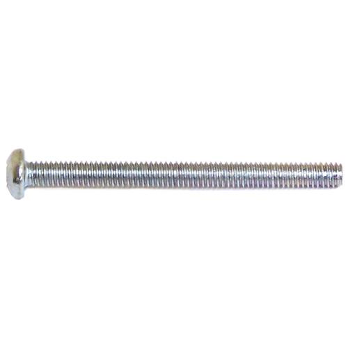 "Pan-Head Zinc-Plated Machine Screws - #8 x 2"" - 100/Box"