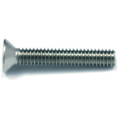 "Flat-Head Stainless Steel Machine Screws -#10 x 1 1/2"" -3/Bx"