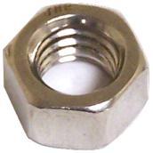 "Hexagonal Nut with Coarse Thread - 3/8"" x 16 pitch - 4PK"