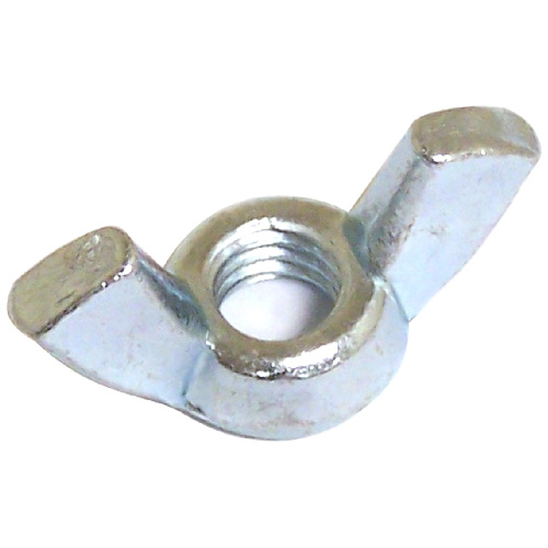 Cold Forged Steel Wing Nuts - #6-32 - 100/Box