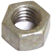 """Écrou hexagonal en acier galvanisé, 5/8"""" x 11 pas, 25/boîte"""
