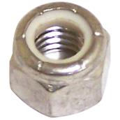 "Lock Nut - Stainless Steel/Nylon - 1/4""-20 pitch - 5PK"