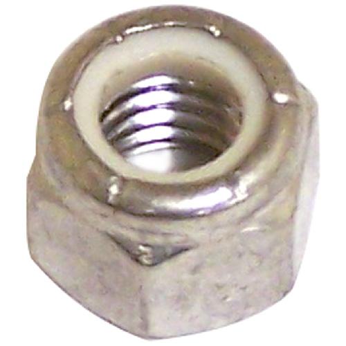 "Lock Nut - Stainless Steel/Nylon - 1/2""-13 pitch - 2PK"