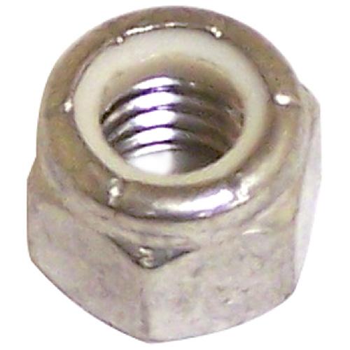 "Lock Nut - Stainless Steel/Nylon - 3/8""-16 pitch - 25PK"