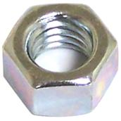 "Hexagonal Nut with Coarse Thread - 1/4"" x 20 pitch - 100PK"
