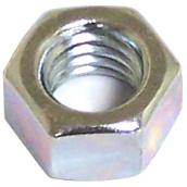 "Hexagonal Nut with Coarse Thread - 5/16"" x 18 pitch - 100PK"