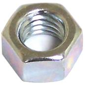 "Hexagonal Nut with Coarse Thread - 3/8"" x 16 pitch - 100PK"
