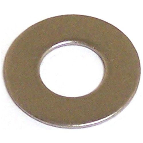 "Reliable Stainless Steel Flat Washers - 1/2""  - 3/Pack"