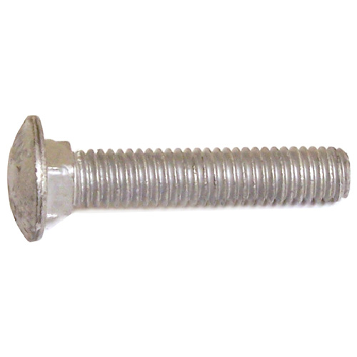 "Carriage Bolts - 5/16""-18 - 1 1/2"" - 50/Box - Galvanized Steel"