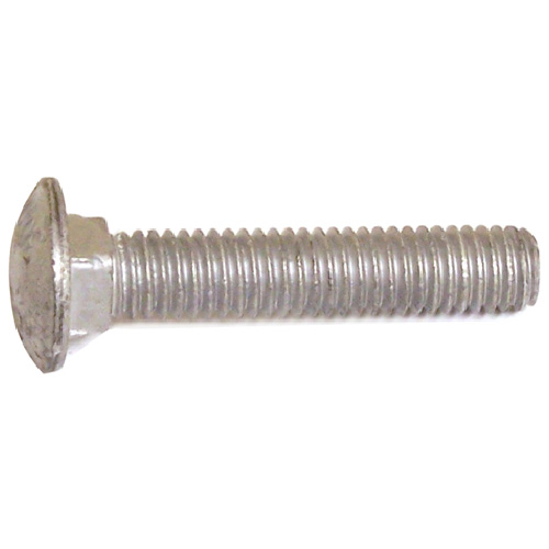 "Carriage Bolts - 5/16""-18 - 2 1/2"" - 50/Box - Galvanized Steel"