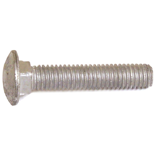 "Carriage Bolts - 5/16""-18 - 5 1/2"" - 50/Box - Galvanized Steel"