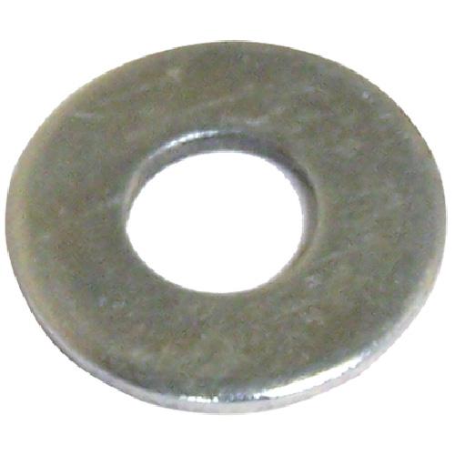 "Flat Washers - Steel - 5/16"" - Box of 5 lb - Zinc Finish"
