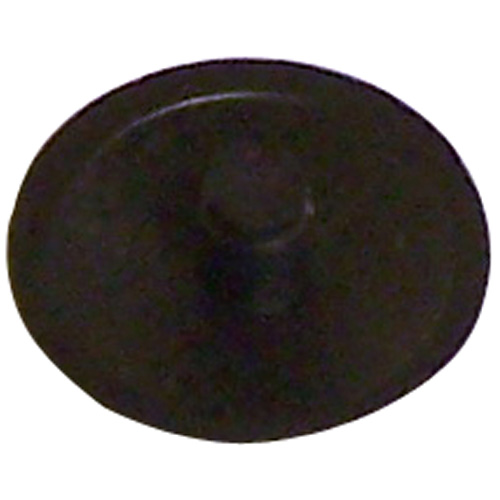 Screw Plastic Square-Drive Cover Cap - #8 - Black - 25 Box