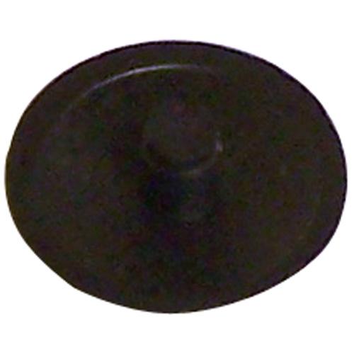 Screw Plastic Square-Drive Cover Cap - #8 - Black - 50/Box
