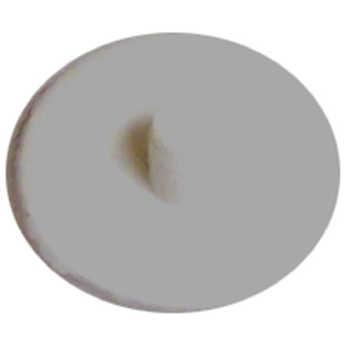 Screw Plastic Square-Drive Cover Cap - #6 - White - 50/Box