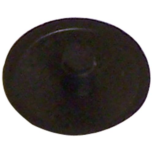 Cache-vis pour embout carré, plastique, n° 6, noir, 50/boîte