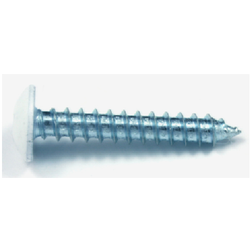 "White Truss-Head Metal Screw - #10 x 3/4"" - 500/Box"