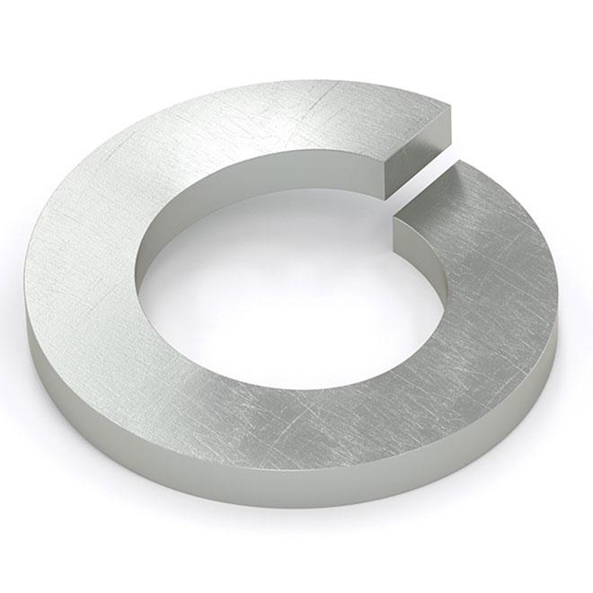 """Spring Lock Washer - 5/8"""" - 100/Box - Galvanized Steel"""