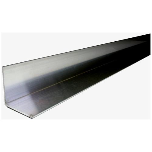 "Angle Bar - Steel - 1/8"" x 1/2"" x 4' - Black"