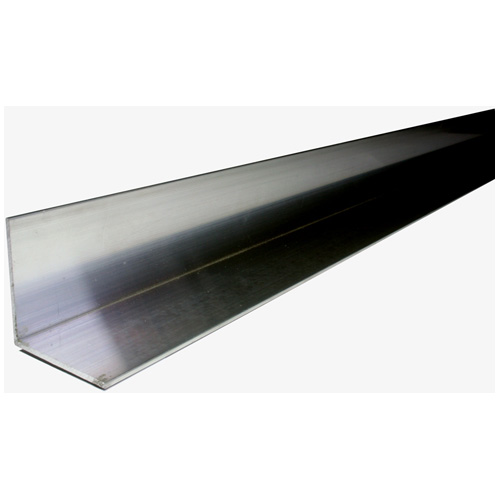 "Angle Bar - Steel - 1/8"" x 1 1/2"" x 4', Black"