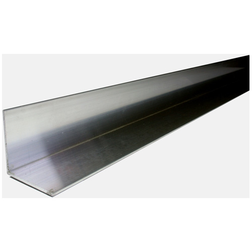 "Angle Bar - Solid Aluminum - 3/4"" x 3' x 1/16"""