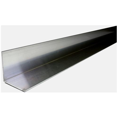 "Fer angle plein en aluminium, 1"" x 6' x 1/16"""