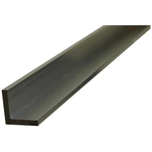 "Angle Bar - Solid Aluminum - 3/4"" x 3' x 1/8"""