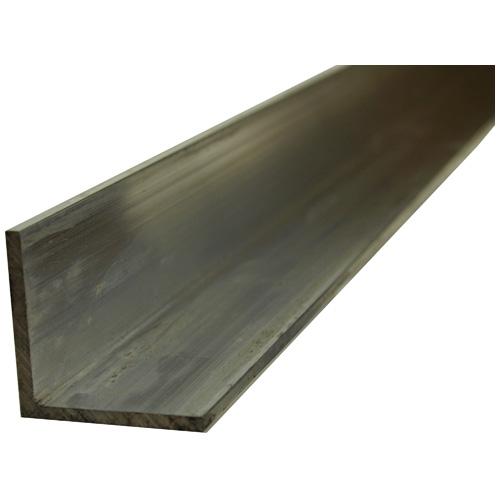 "Fer angle plein en aluminium, 1"" x 3' x 1/8"""