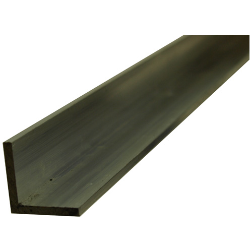 "Angle Bar - Solid Aluminum - 1"" x 6' x 1/8"""