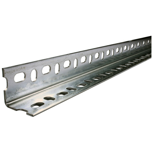 """Angle Bar - Perforated Galvanized Steel - 1 1/2"""" x 6' x 5/64"""""""