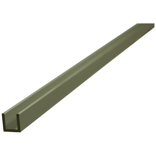 """U"" Rod - 1/4"" x 72"" x 1/16"" - Aluminum"