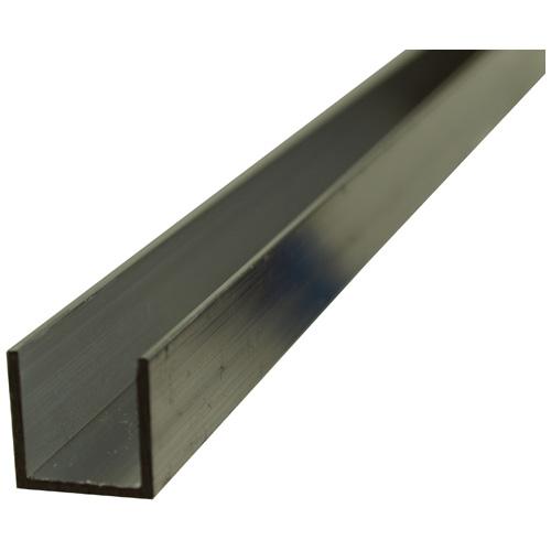 """U"" Rod - 1/2"" x 72"" x 1/16"" - Aluminum"