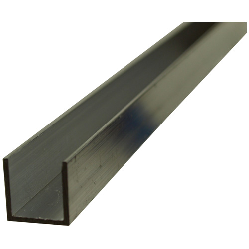 """U"" Rod - 3/4"" x 72"" x 1/16"" - Aluminum"