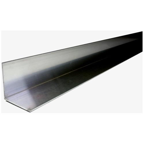 "Angle Bar - Solid Steel - 1 1/4"" x 3' x 1/8"" - Black"