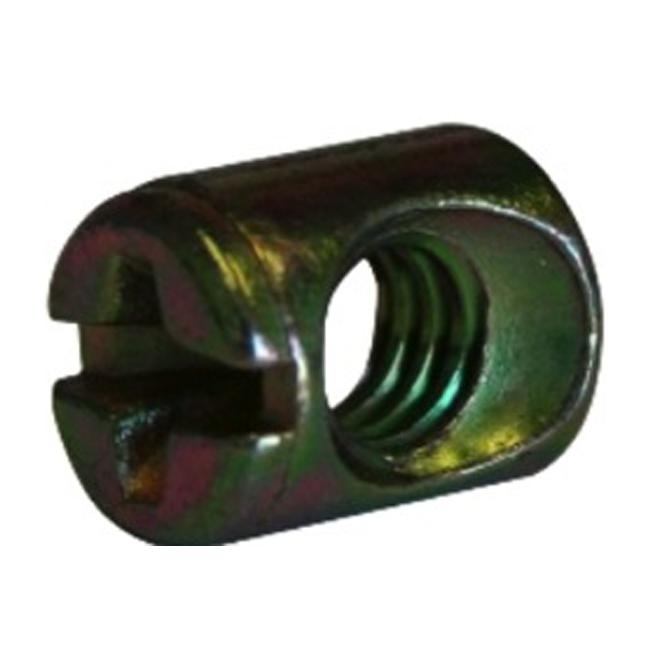 """Écrou de type JRN, 1/4"""" x 16 mm, zinc, 4/pqt"""