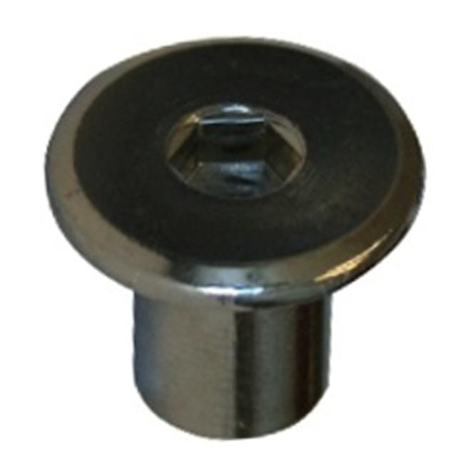 """JCN Type Hexagonal Nut - 1/4"""" x 12 mm x 20 pitch - 4PK"""