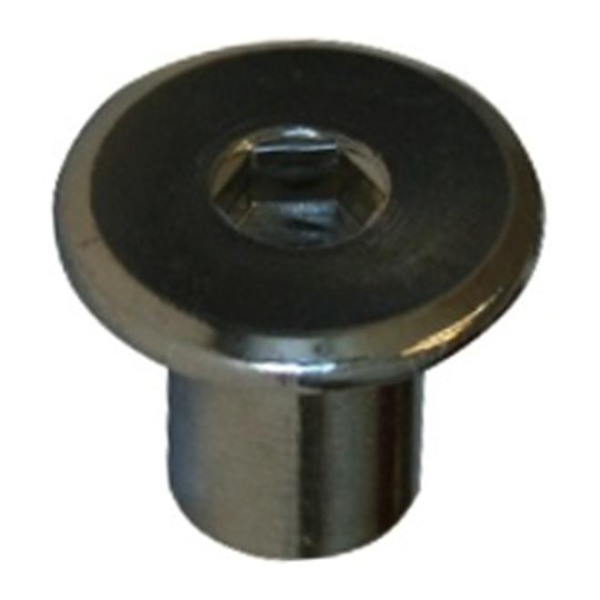 """JCN Type Hexagonal Nut - 1/4"""" x 17 mm x 20 pitch - 4PK"""