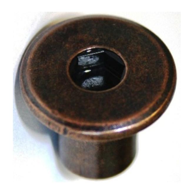 """JCN Type Nut - 1/4"""" x 12 mm x 20 pitch - 4PK - Bronze"""
