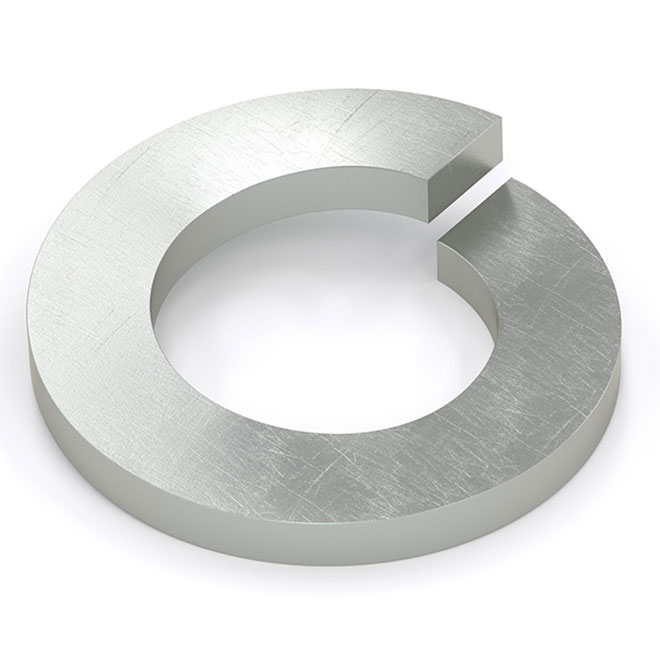 """Spring Lock Washer - 7/16"""" - 100/Box - Zinc"""