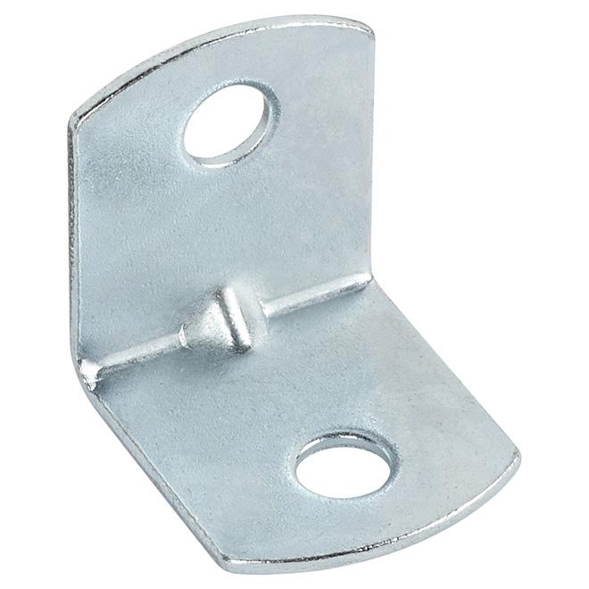 """Corner Brace - Metal - 3/4"""" - 100/PK - Zinc"""