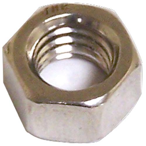 "Hexagonal Nut with Coarse Thread - 1/4"" x 20 pitch - 6PK"