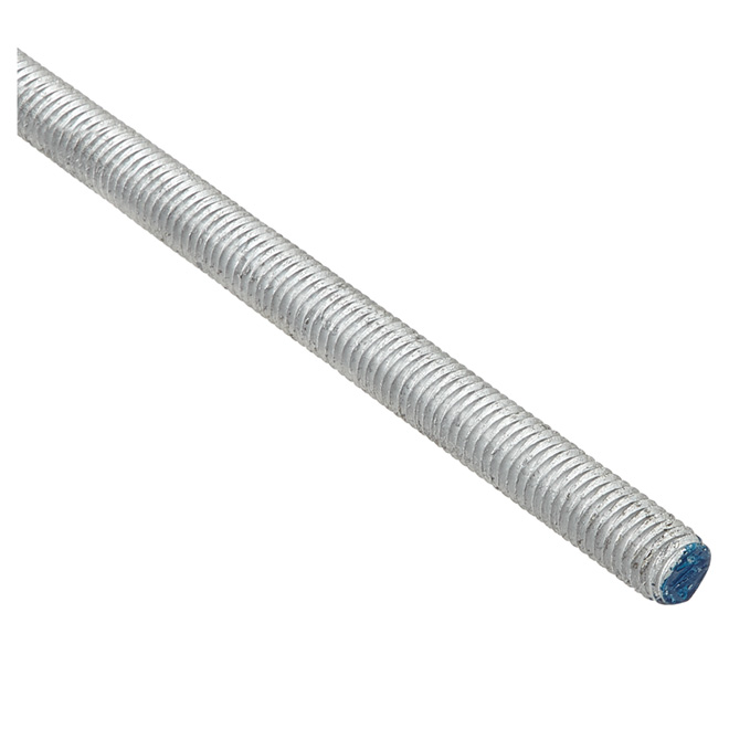 "Threaded Rod - 1/2""-13 - 36"" - Galvanized Steel"