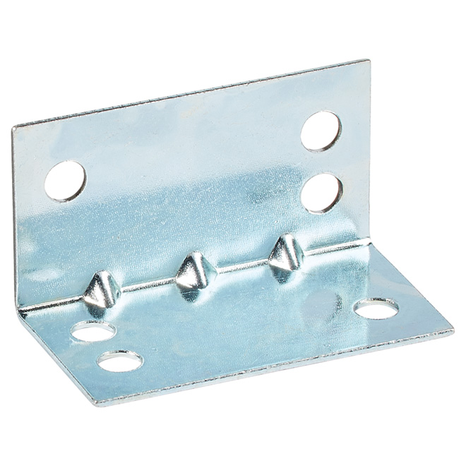 "Corner Brace - Steel - 1 3/4"" x 1"" - 5/PK - Zinc"