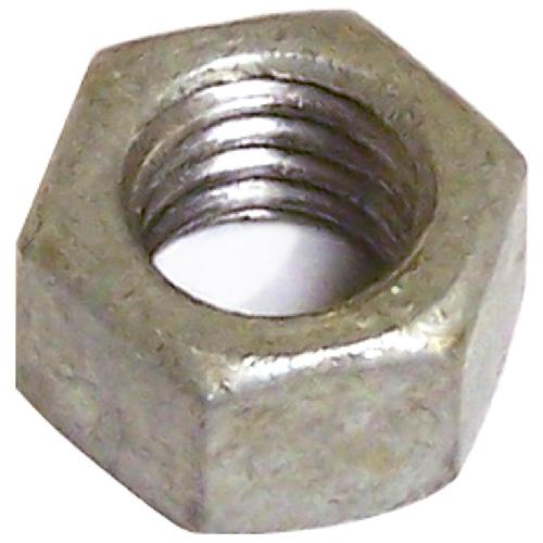 """Hexagonal Nut - Galvanized Steel - 1/4"""" x 20 pitch - 50PK"""